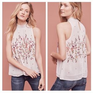 Floreat Sotra Tank Embroidered Floral Swing